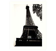 Eiffel Tower 2 Art Print
