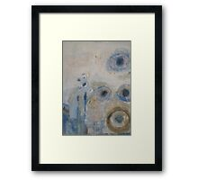 misty morning observation Framed Print