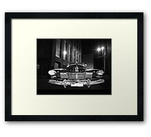 caddy in the shadows Framed Print