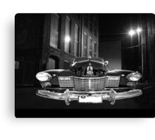 caddy in the shadows Canvas Print
