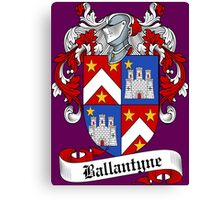 Ballantyne (Bannatyne) Canvas Print