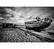 Boat and shed  Photographic Print