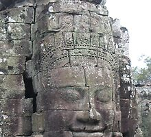 Face of Angkor. by machka