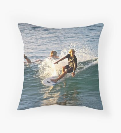 young talent Throw Pillow