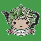 Vanilla Mint Teapot by Bubble Doll