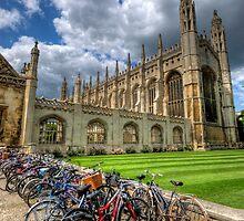 Kings College, Cambridge by Yhun Suarez