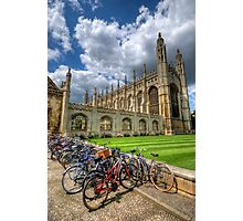 Kings College, Cambridge Photographic Print