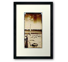 Coastal Memories (Scott Peters, 2009, Digital Mixed Media) Framed Print