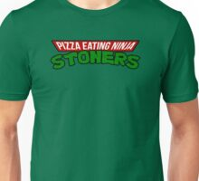 Pizza Eating Ninja Stoners Unisex T-Shirt