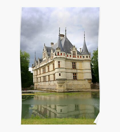 French Castle Poster