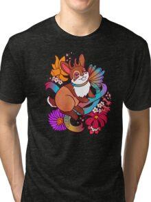 Springtime Jackalope Tri-blend T-Shirt