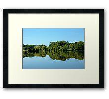 Mirror, Mirror  - Union Pond Framed Print