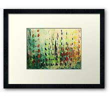 floral observation summer Framed Print