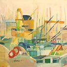 port observation spain by H J Field