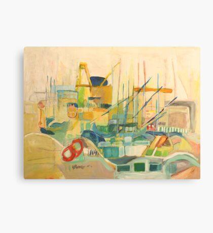 port observation spain Canvas Print