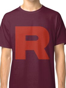 R Team Rocket Pokemon Classic T-Shirt