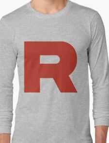 R Team Rocket Pokemon Long Sleeve T-Shirt