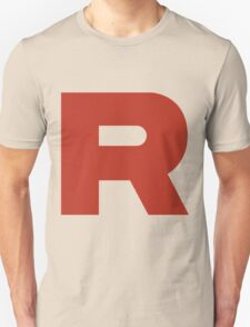 R Team Rocket Pokemon Unisex T-Shirt