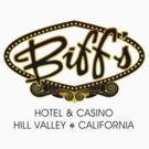 Biff's Hotel and Casino (Back to the Future) Light Shirt by TGIGreeny