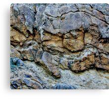 Rock Chasm Canvas Print