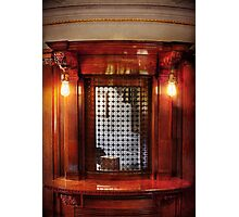 Americana - Movies - Ticket Counter Photographic Print