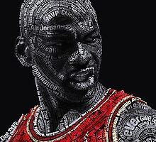 Michael Jordan Typography by potha40