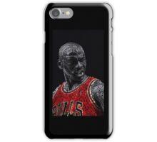 Michael Jordan Typography iPhone Case/Skin