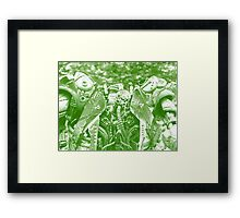 ©AS Night Vision IA. Framed Print
