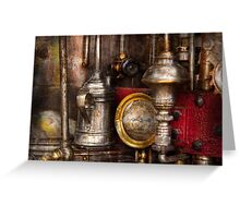 Steampunk - Needs oil Greeting Card