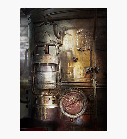 Steampunk - Silent into the night Photographic Print