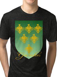 Gaveston coat of arms Tri-blend T-Shirt