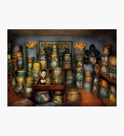 Collector - Hats - The hat room Photographic Print