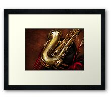 Music - Brass - Saxophone  Framed Print