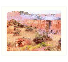 Desert History Art Print