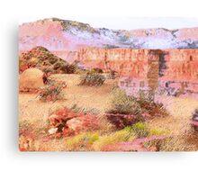 Desert History Canvas Print