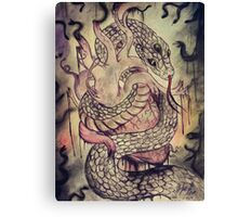 Snake in my Heart. Canvas Print