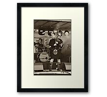 Red Hot Chilli Pipers (1) Framed Print