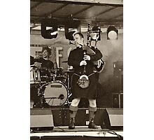 Red Hot Chilli Pipers (1) Photographic Print