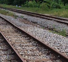 Railway track KTM Singapore! by shenlong