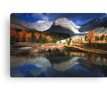 Reflected in Arethusa pond Canvas Print