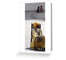 Rag Dolly - Old Habana  Greeting Card