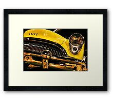 54 Buick Road Master Framed Print