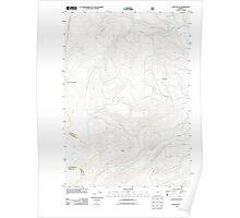 USGS Topo Map Oregon Fort Butte 20110808 TM Poster
