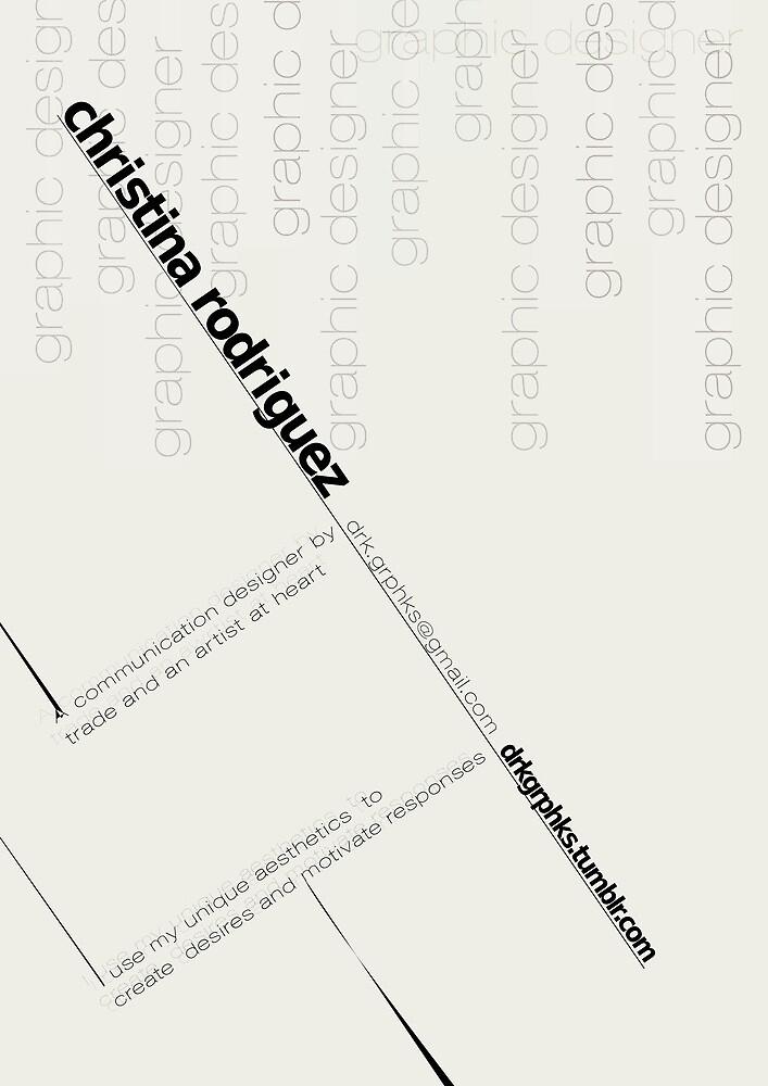 Bauhaus Logo by Christina Rodriguez