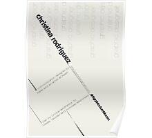 Bauhaus Logo Poster