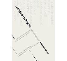Bauhaus Logo Photographic Print