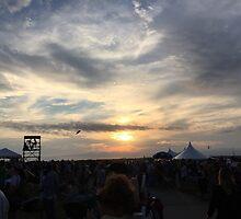 Newport Folk Festival Sunset by meganmfox