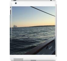 Newport Sailboat at Sunset iPad Case/Skin