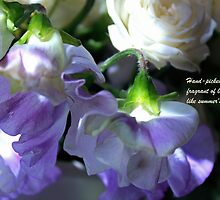 Summer's Sweet Peas by bared