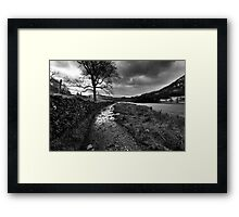 Wandering In The Lake District Framed Print